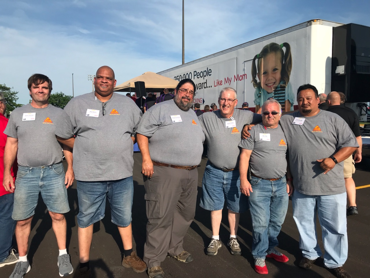 Decker Competes in the 2018 IMTA's Truck Driving Championships