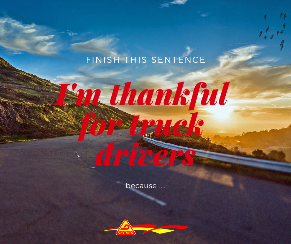 Driver Appreciation Week #MMLIVE - Why We Are Thankful for Our Drivers