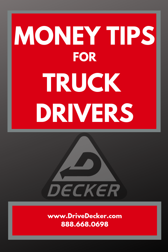 How (Can) Truck Drivers Save Money