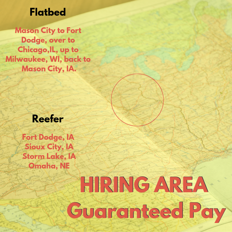 Midwest Flatbed & Reefer Divisions Now Offering Guaranteed Pay