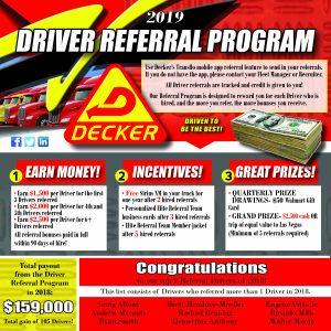 2019 Driver Referral Program