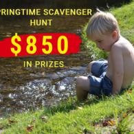 Springtime Scavenger Hunt
