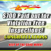 Inspection Bonuses 6-7-19 to 6-13-19