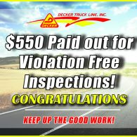 Inspection Bonuses 5-31-19 to 6-6-19