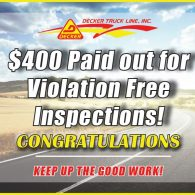 Inspection Bonuses 6-28-19 to 7-4-19
