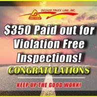 Inspection Bonuses 10-11-19 to 10-17-19