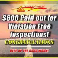 Inspection Bonuses 11-1-19 to 11-7-19