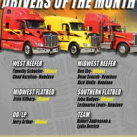 2020 January Drivers of the Month (2/17/2020)