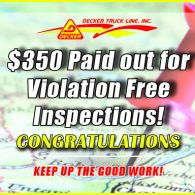 Inspection Bonuses 2-14-20 to 2-20-20