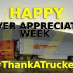 Every year the nation recognizes our men and women on the road delivering our goods safely, securely, and on-time. This year, more than ever, we would like to encourage everyone to #ThankATrucker for not only continuing to deliver our needed goods but also remember how crucial of a role professional truck drivers have played during the COVID-19 pandemic. They have kept our highways safe and as essential workers continued to provide our much-needed supplies. Thank you!