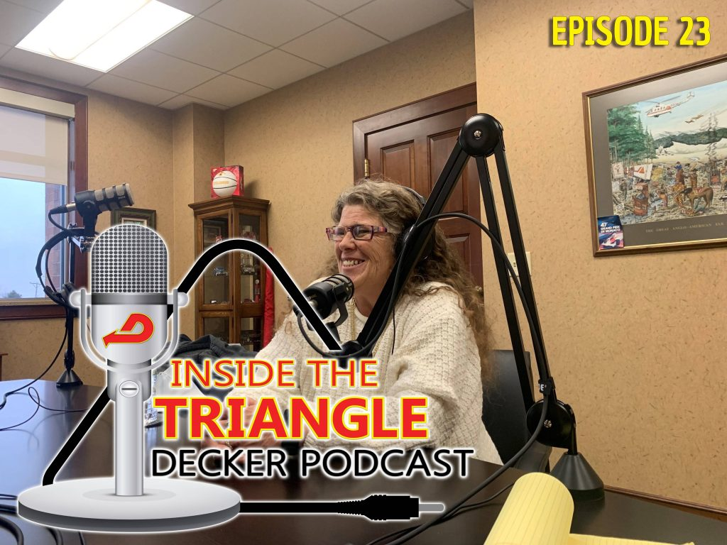 Meet Elaine Schlick, Driver Trainer and Orientation Instructor, on this week's episode of Inside the Triangle.  Elaine joins host, Darin Ladlie, to explore Driver Orientation at Decker Truck Line.  They walk through, day by day, the first week that Drivers join the Decker Team and how they help to prepare them to get out on the road.